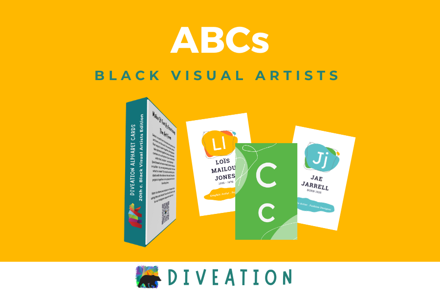 Black Visual Artists box back and cards