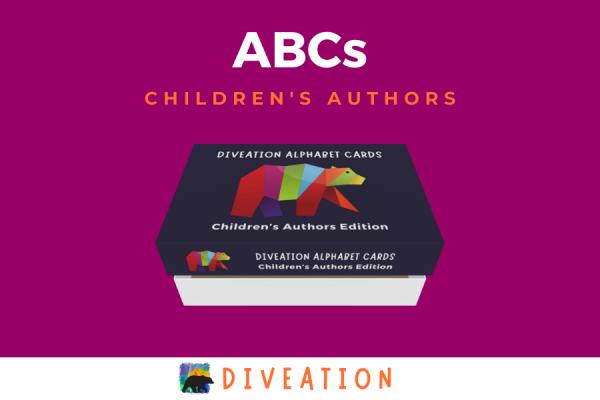 Children's Authors box, partially open