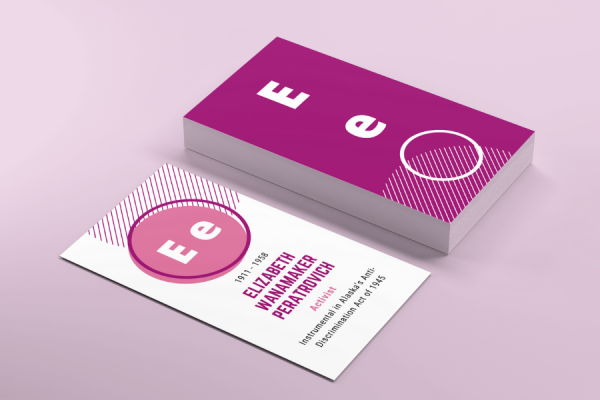 Stack of Inspirational Women ABC cards